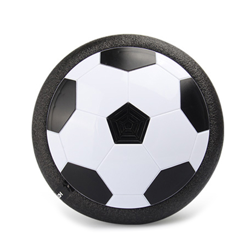 Indoor Kids LED Light Soccer Football 18CM Air Power Toys Training Football with Foam Bumpers and Music Hot Sale