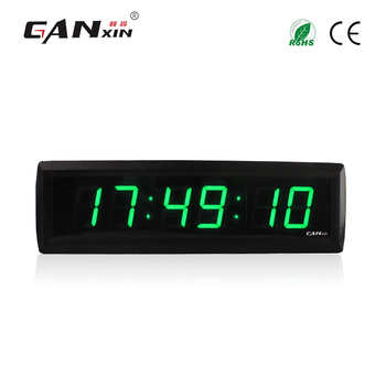[GANXIN]Display Led 7 Segment 6 Digits Remote control  Chamber of Secrets Room Escape Game Digital Countdown Clock