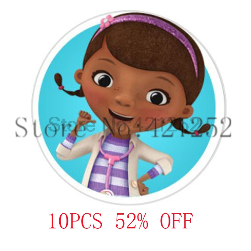 Doc McStuffins Glass Photo Cabochon Necklace keyring bookmark cufflink earring