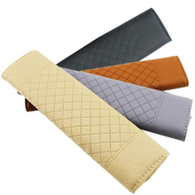 JLEC 1 Pcs Seat Crevice PU Car Seat Belt Padding Cover Auto Driver Shoulder Protector for BMW Seat Belt with Four Colors