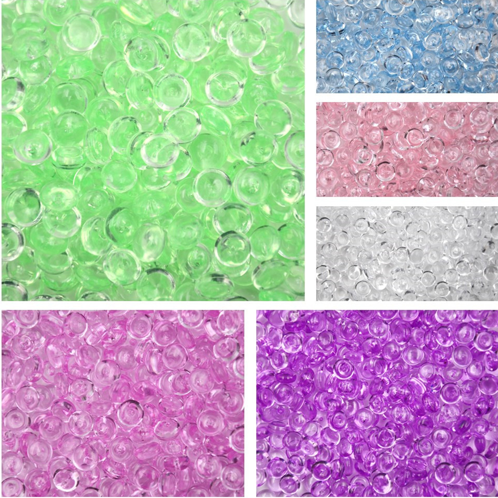 DIY Fluffy Slime Clay Anti Stress Toy Craft Creative Fishbowl Beads Plastic Acrylic Vase Fish Bowl Filler Toy Party Supply 50g creative dump monkey falling toy tumbling monkeys party