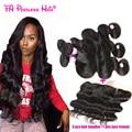 13X4 малайзии девы волос объемной волны с закрытие фронтальной 7а закрытие шнурка человеческих волос фронтальной с ребенком волос королева волос магазин