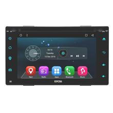 Android 6.0 Car DVD Player Capacitive Screen Double Din Car Stereo In Dash GPS Navigation Head Unit FM Radio WiFi support OBD2