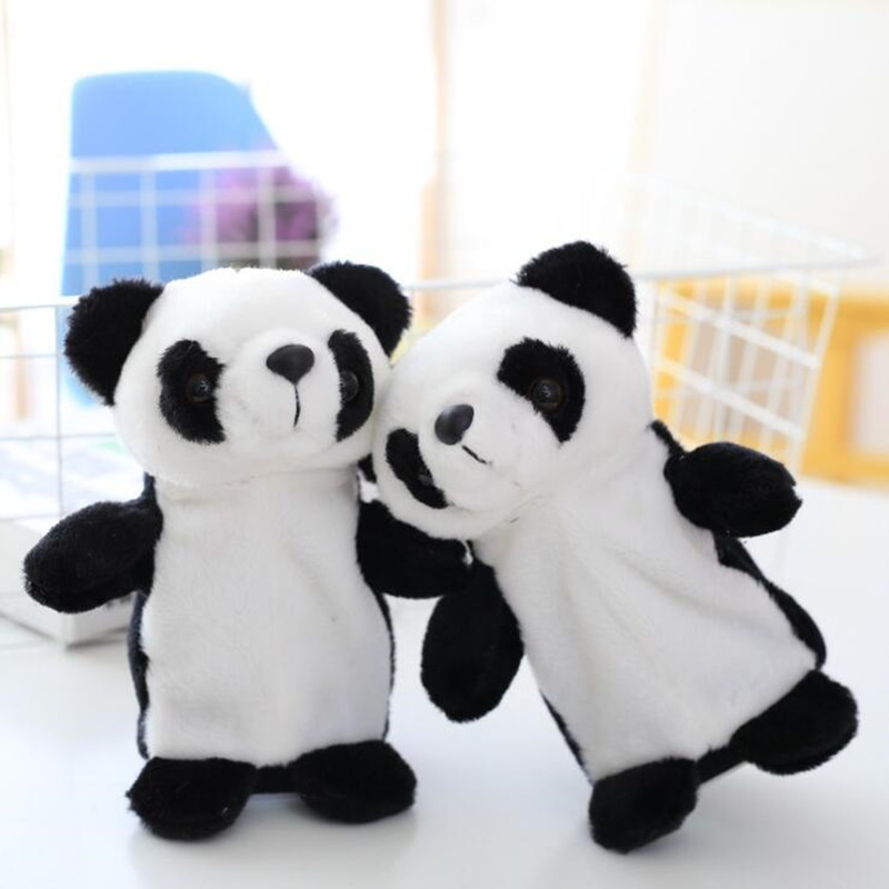 18cm Talking Panda Pet Plush Toy Learn To Speak Electric Record Panda Educational Stuffed Toys GiftS For Children