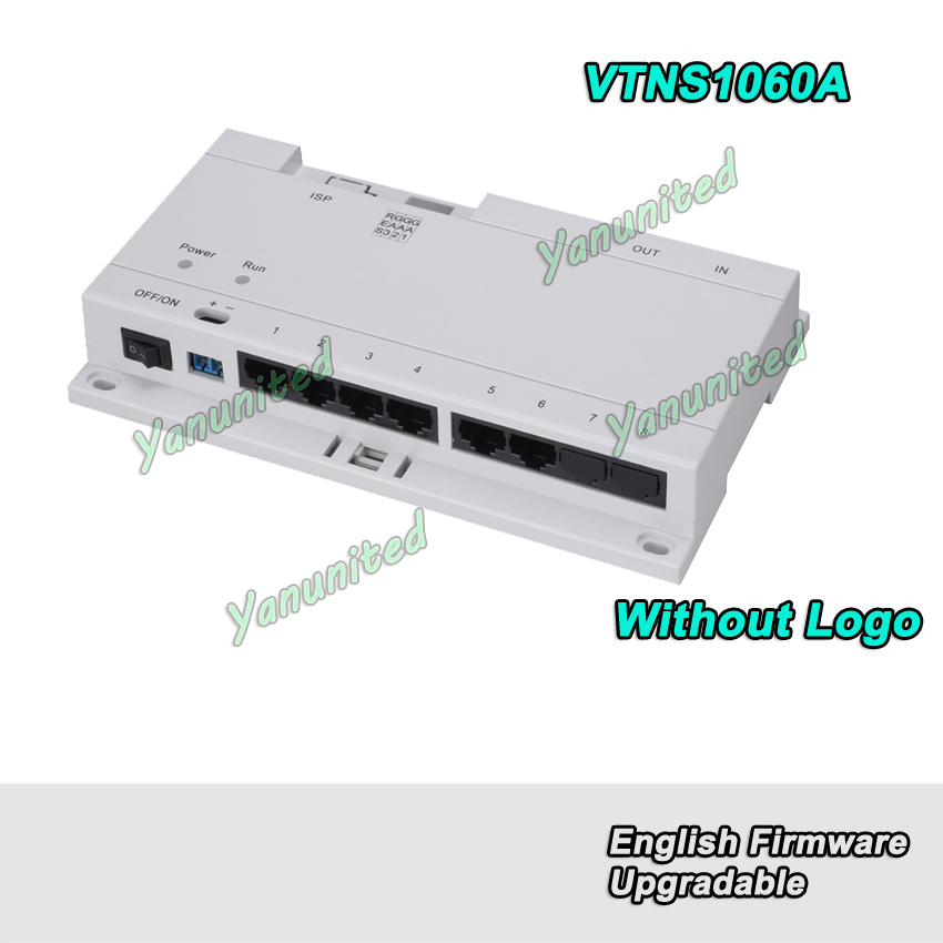 DH Original English Version VTNS1060A Video Intercom POE Switch for IP System Without Logo