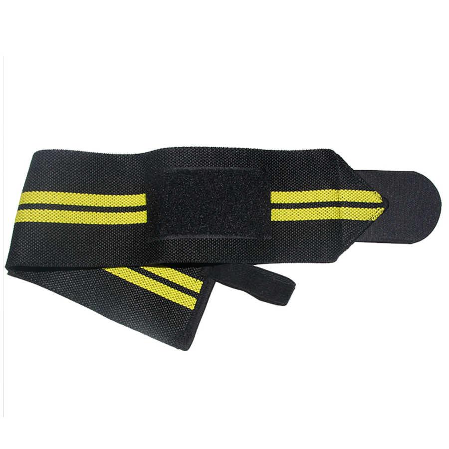 2 шт. регулируемый браслет эластичные бинты для запястья повязки для тяжелой атлетики Powerlifting дышащие тренировки поддержка запястья