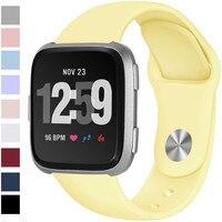 Ремешок для Fitbit Versa ремешок часы Reverse Пряжка замена Браслет для Fitbit Versa Lite ремешок силиконовый Smartwatch наручные часы