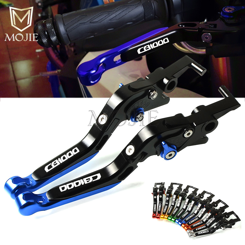 Motorcycle Accessories CNC Adjustable Folding Extendable Brake Clutch Levers For Honda CB1000 CB 1000 Big one