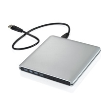 [Writer / Blu - ray External] Ultra Slim 3D Player Portable External USB 3.0 Reader Writer BD RW for Apple MacBo