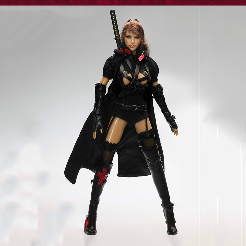 CT002 1/6 Scale Female Action Figure Dark Mourner 12 Action figure Doll Collectible Models Full Set Figures 1 6 soldier action figure the dark zone agent renegad model accessories full set figures