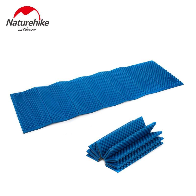 NatureHike Foldable 비치 캠핑 매트 접이식 침대 슈퍼 라이트 옥외 습기 - 증거 패드 피크닉 패드