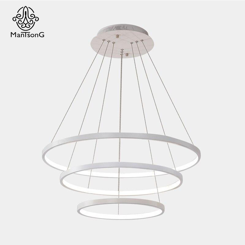 Mantsong Modern LED Pendant Light For Living Room Dining Room AC90 260V Pendant Light Creative Pendant