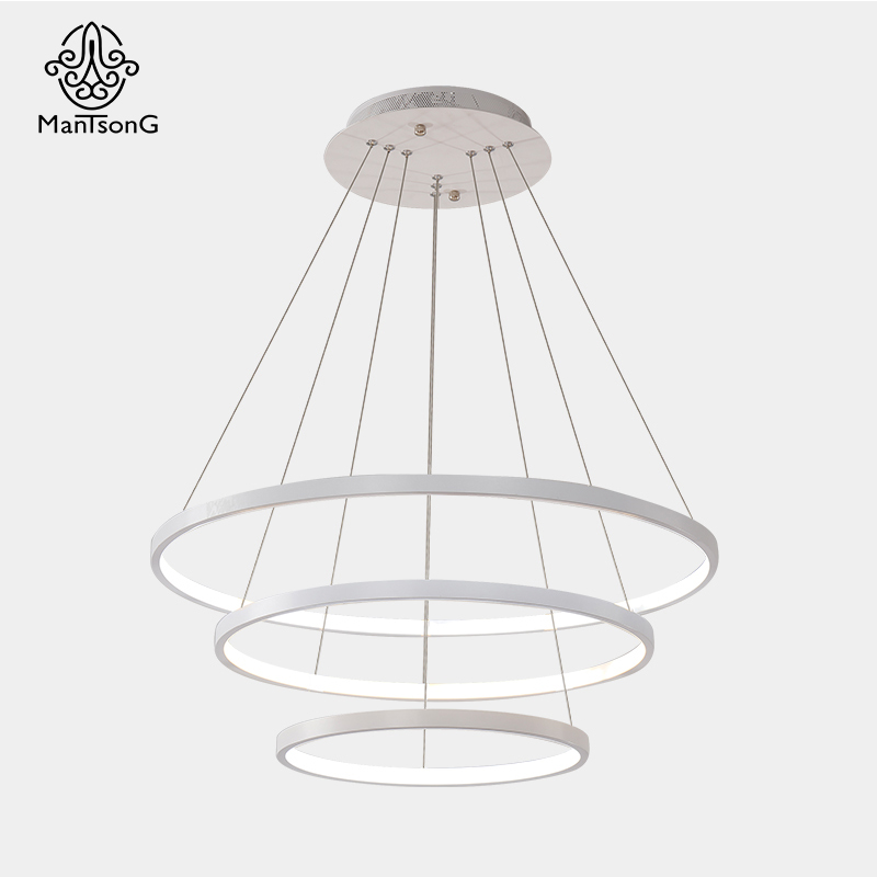 Mantsong Modern LED Pendant Light For Living Room Dining Room AC90 260V Pendant Light Creative Pendant