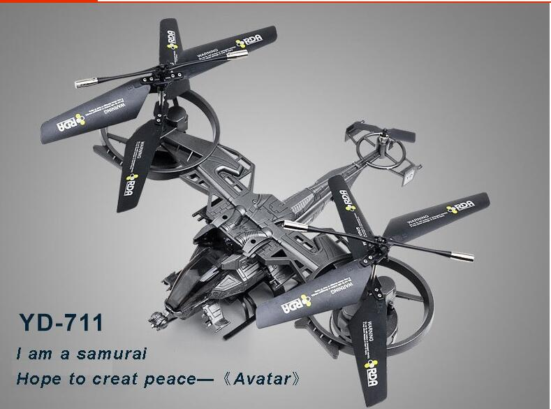Large Avatar helicopter YD711 Avatar AT-99 2.4G 4ch RTF rc Helicopter Gyro Ready To Fly Control remote control toy RC DRONE