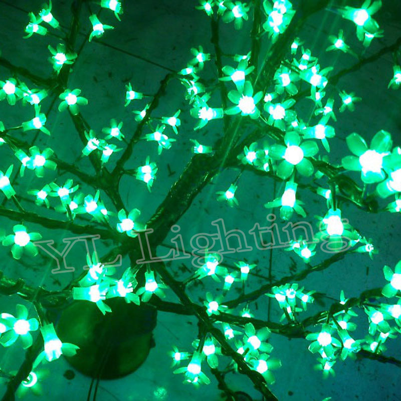 08meter 200leds artificial outdoor blossom cherry tree with pink christmas lights cheap price for europ in holiday lighting from lights lighting on