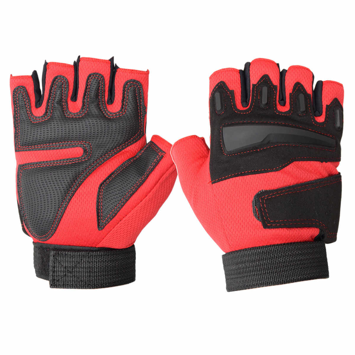 Gym Gloves Half Finger Breathable Weightlifting Fitness Gloves Men Women Exercise Training Wrist Sports Gloves Anti-Skid Glove