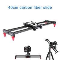 15,7 дюймовая тележка для камеры из углеродного волокна с 4 роликовыми подшипниками для видеосъемки