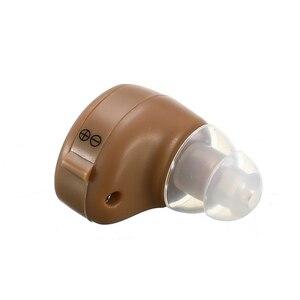 Image 4 - K 80 Mini Verstelbare Dightal Tone In Ear Beste Invisible Sound Enhancement Deaf Volume Versterker Gehoorapparaat Aids Oor Hulp