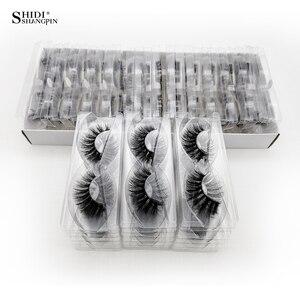 Image 2 - Atacado cílios postiços maquiagem cílios postiços grossos no volume atacado cílios 20/40/50/100 pçs 3d vison cílios naturais vison cílios