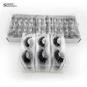 Image 2 - Cils en gros 20/40/50/100 pièces 3d cils de vison naturel cils de vison en gros faux cils maquillage épais faux cils en vrac