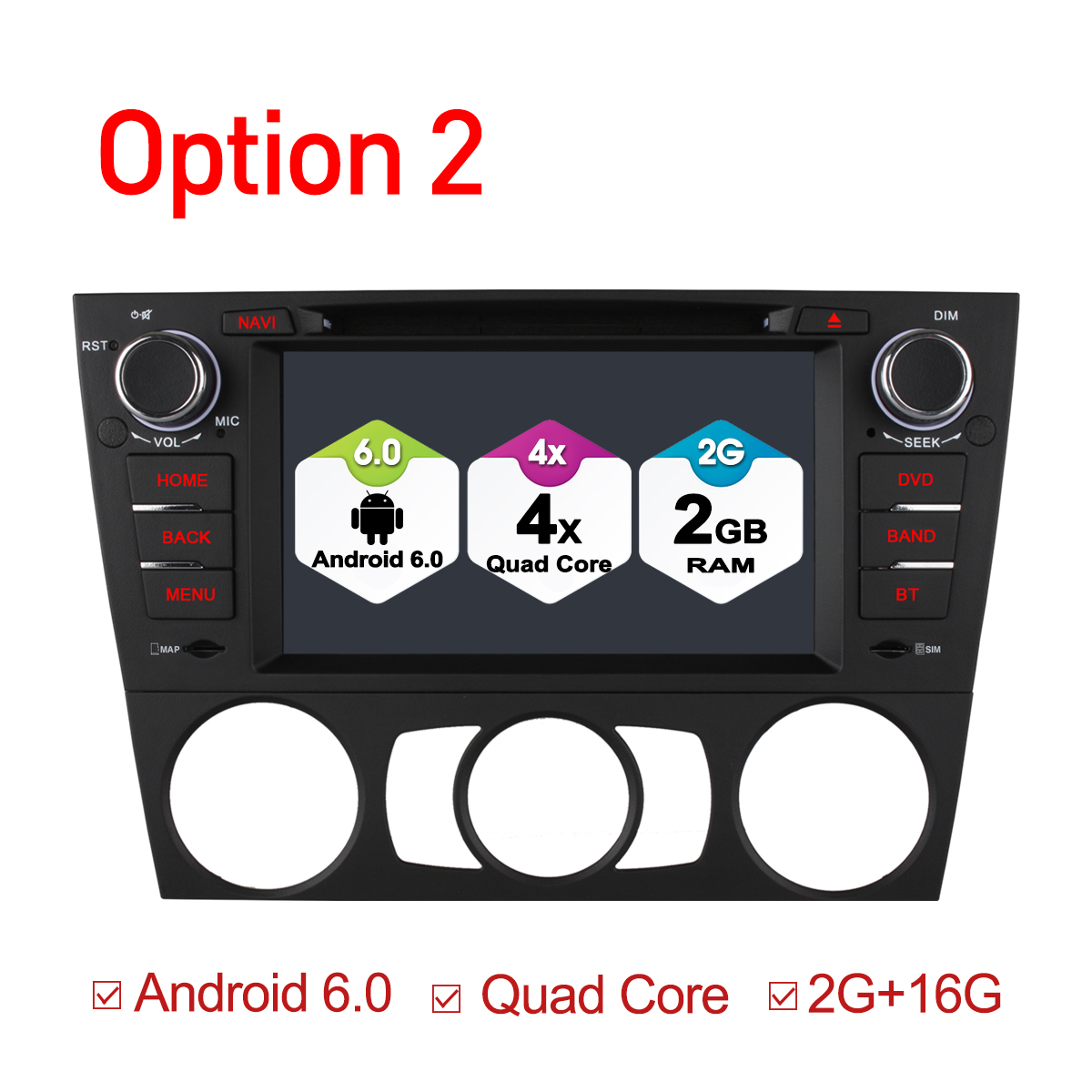 Ownice C500 32G ROM voiture DVD GPS Octa Core Android 6.0 pour E90 E91 E92 E93 lecteur autoradio 2GB RAM 16GB ROM Support wifi 4G DAB +