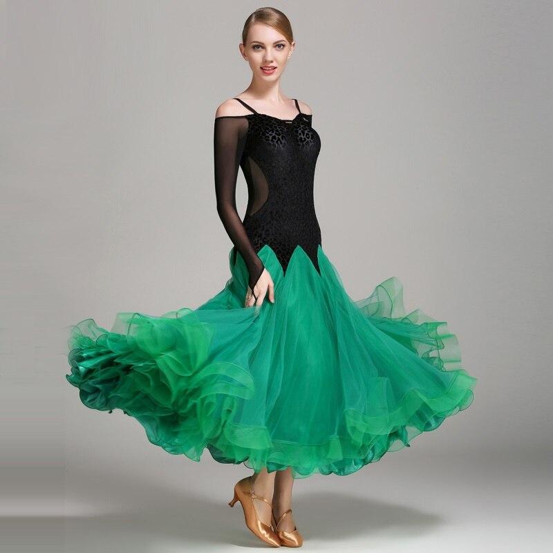 Viennese Waltz Ballroom Dance Dresses