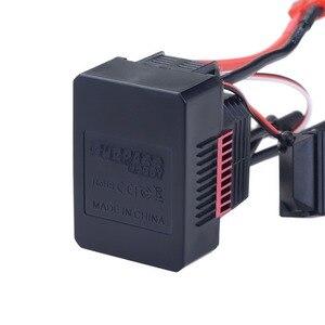 Image 5 - SURPASSHOBBY KK wodoodporny 60A ESC elektryczny regulator prędkości dla RC 1/10 1/12 RC Car 3660 bezszczotkowy silnik