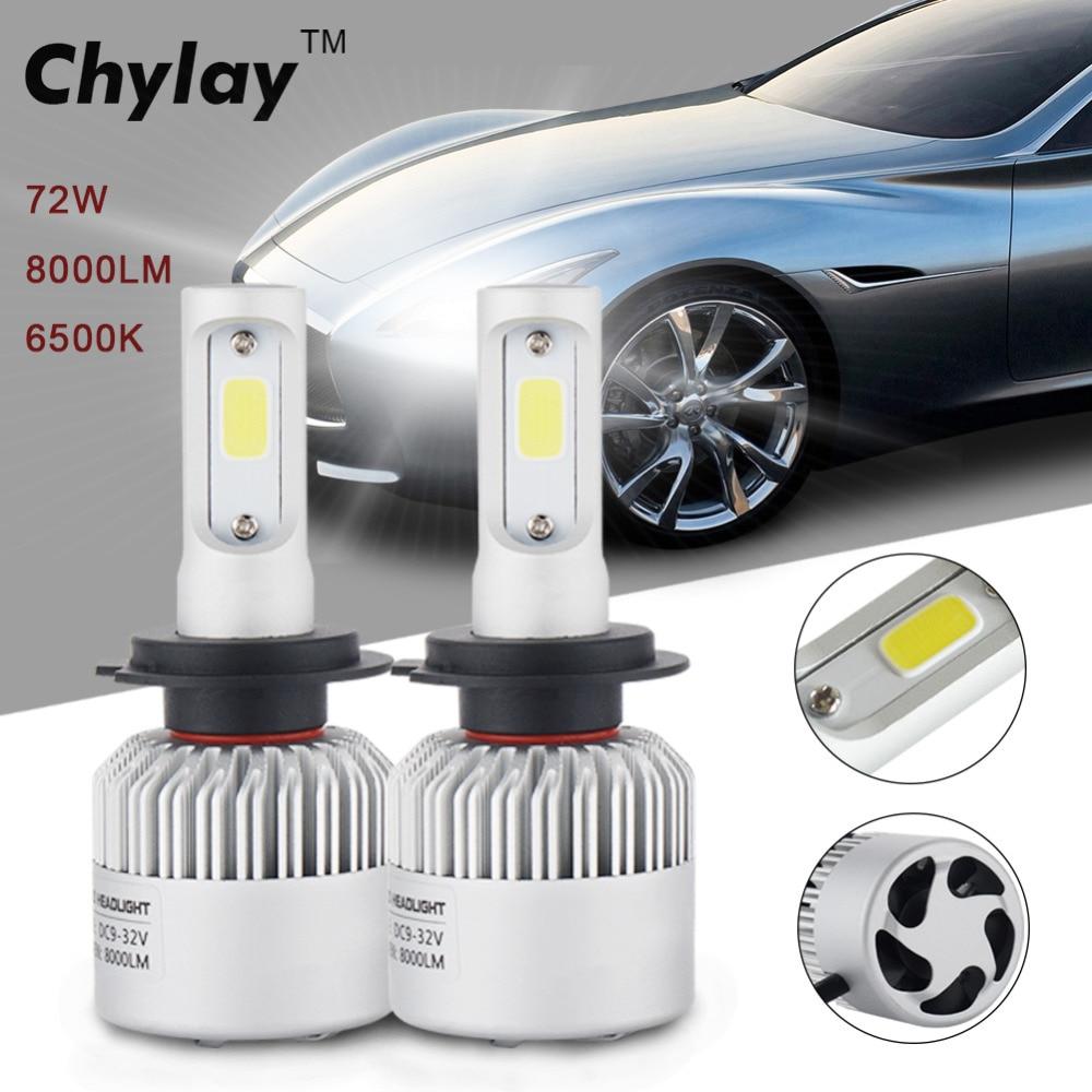 Īpaši spilgti LED automašīnu lukturu H7 spuldze 6500k Auto - Auto lukturi - Foto 2