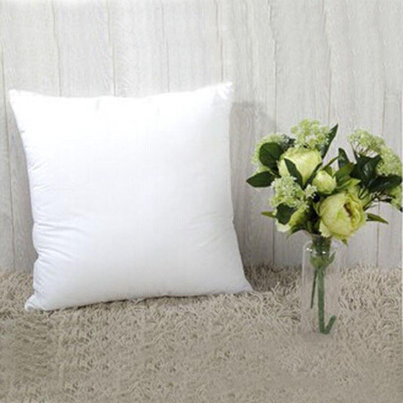 Heißer verkauf neue stil kissen kernkissen einfügen dekorative platz kissen kern für sofa kissen 45*45 cm