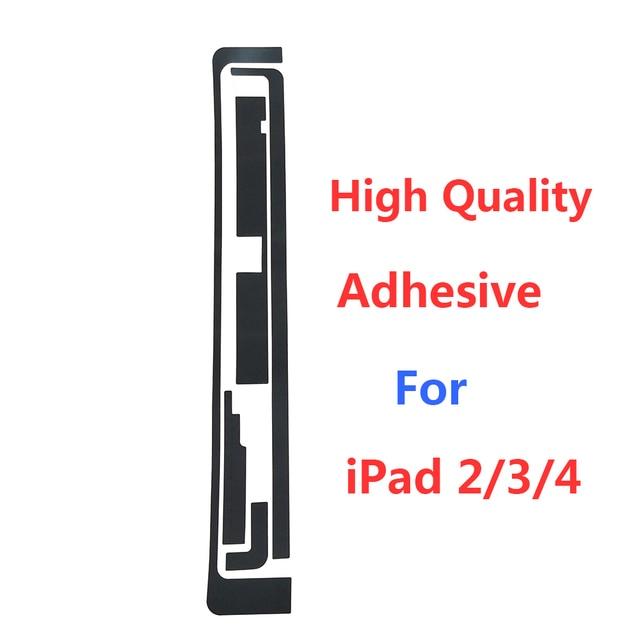 50 set/lote adhesivo para IPad 2 para iPad 3/4 pegatina de pantalla táctil de alta calidad