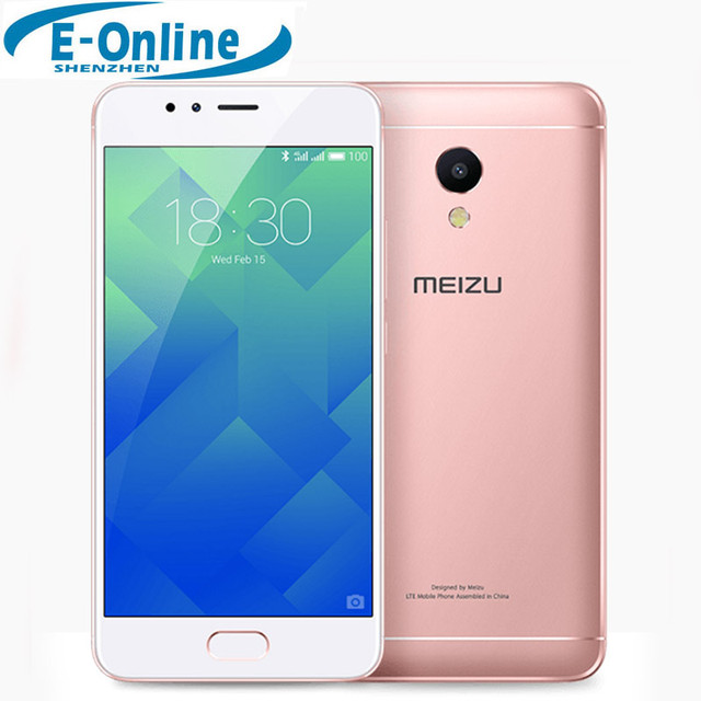 "Original Meizu M5S 4G LTE Cell Phone MTK 6753 Octa Core 5.2"" Touchscreen 3GB RAM 32GB ROM Fast charge Fingerprint ID"