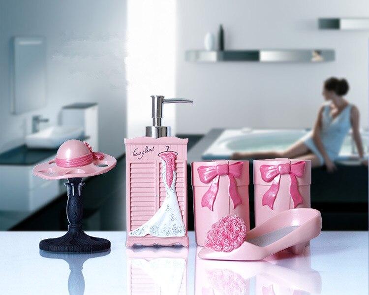 2015 rosa Bad Setzt Europäischen stil Persönlichkeit Acessorio Para ...