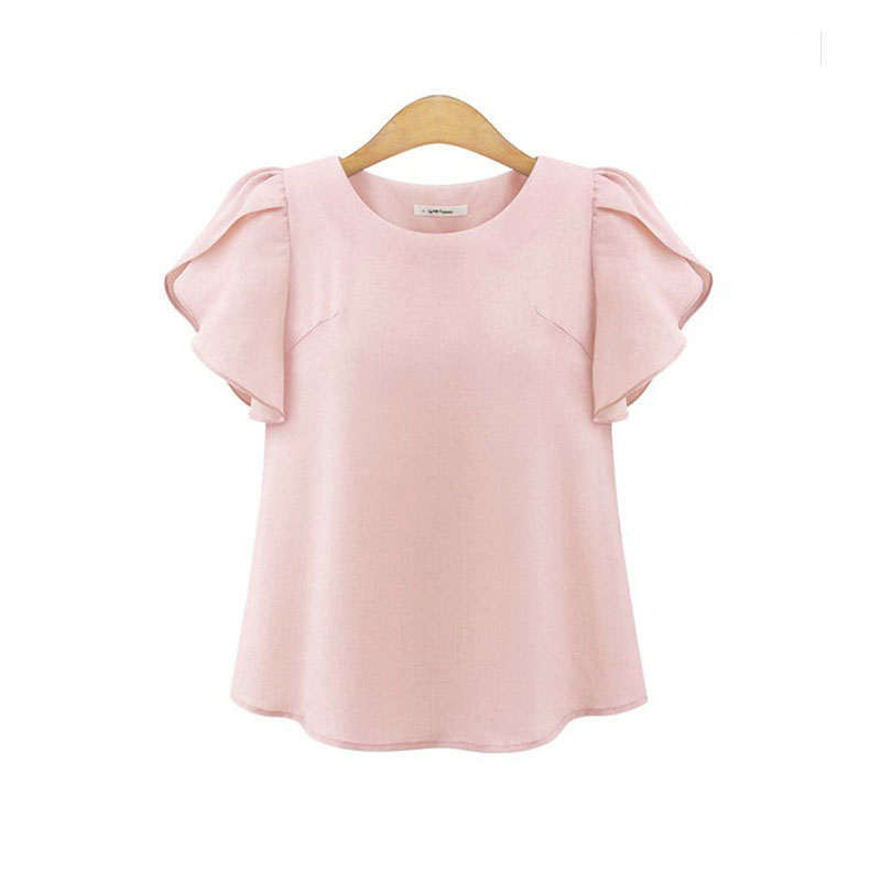 736dd1cbbff3 BOBOKATEER chiffon blouse women shirts plus size womens tops and blouses  blusas mujer de moda 2019
