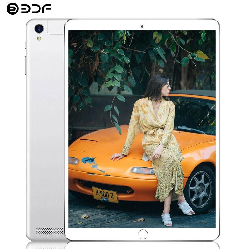 BDF 10 Inch Tablet Pc Android 7.0 Bluetooth WiFi 4GB/64GB Tab Octa Core 3G Phone Tablet Dual SIM Card Tablette Pc Tablet 10 10.1