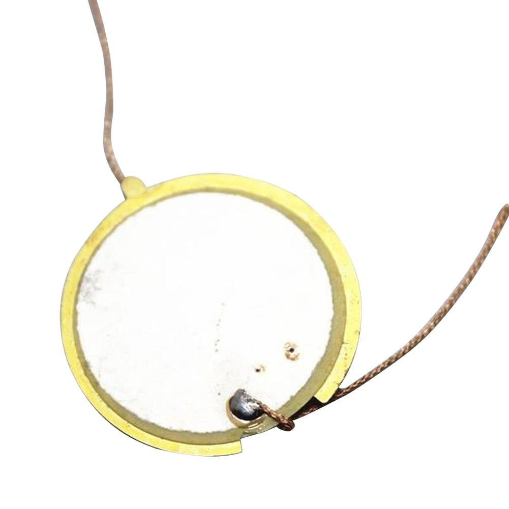 Speaker Ceramic Tonal Trigger 27mm Drum Disc Elements Sounder Sensor Piezo Round Instruments Piezoelectric Wire Music Elements