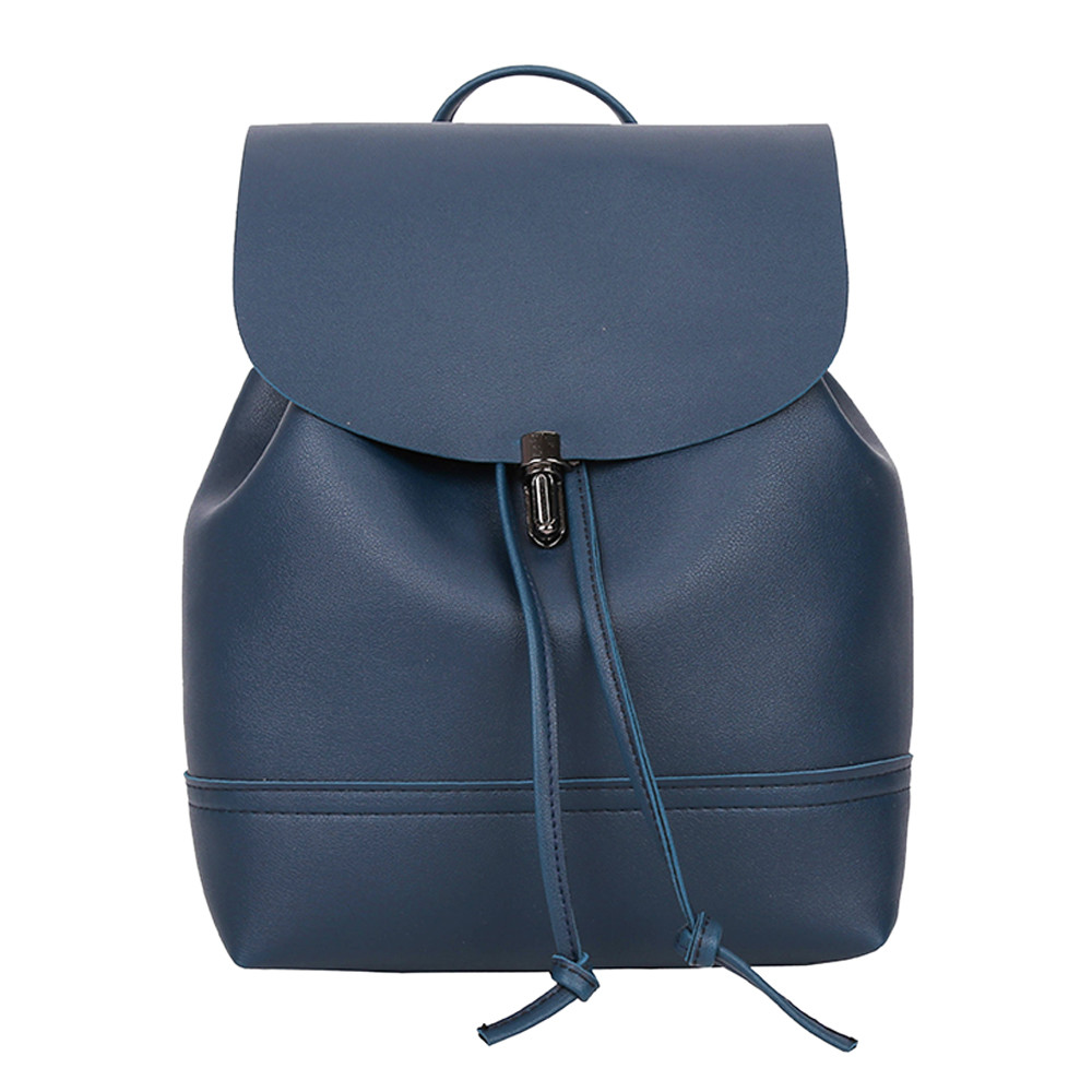 HTB1kQbqa8OD3KVjSZFFq6An9pXaO - Casual Large Capacity Shoulder Bags Vintage Pure Color Leather School Bag Backpack Satchel Women Trave Shoulder Bag