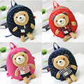 Baby Kids Bear Cartoon Keeper Toddler Walking Safety Harness Backpack Bag Strap Rein Harnesses & Leashes Free Shipping