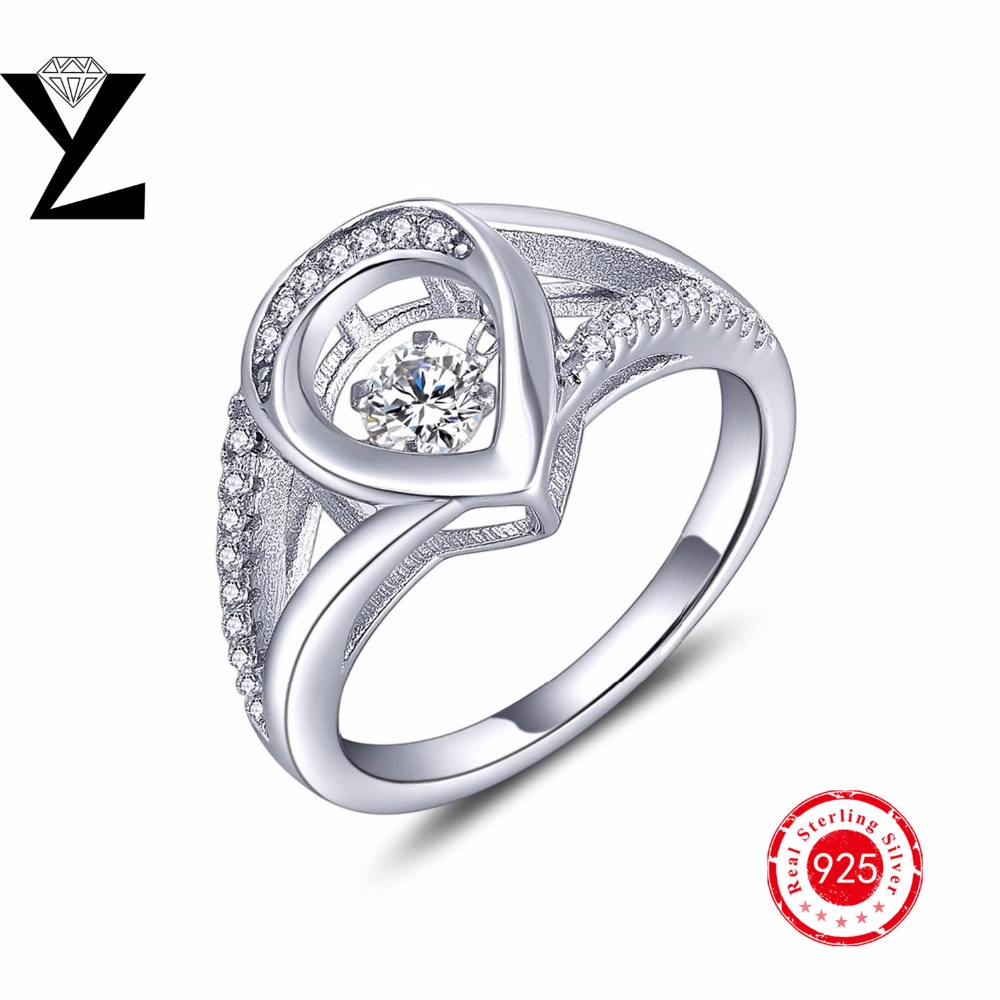 promotion wedding band prices promotion wedding band prices Newest Fashion Women Rings sterling silver women wedding bands ring with Dancing Created Diamond Rings wholesale