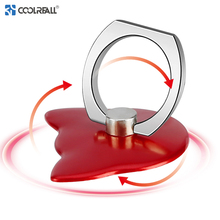 Coolreall 360 Degree Finger Ring Smartphone Stand Holder Mobile Phone  For iPhone X Huawei P20 holder