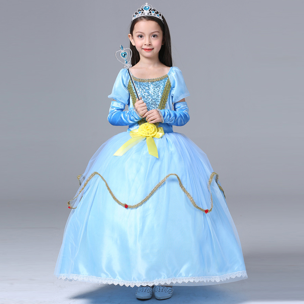 Halloween costume for kids Sofia princess dresses for girls party ...