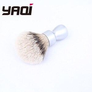 Image 3 - Yaqi כבד מתכת ידית כסופה גירית שיער גילוח מברשת עבור גברים גילוח