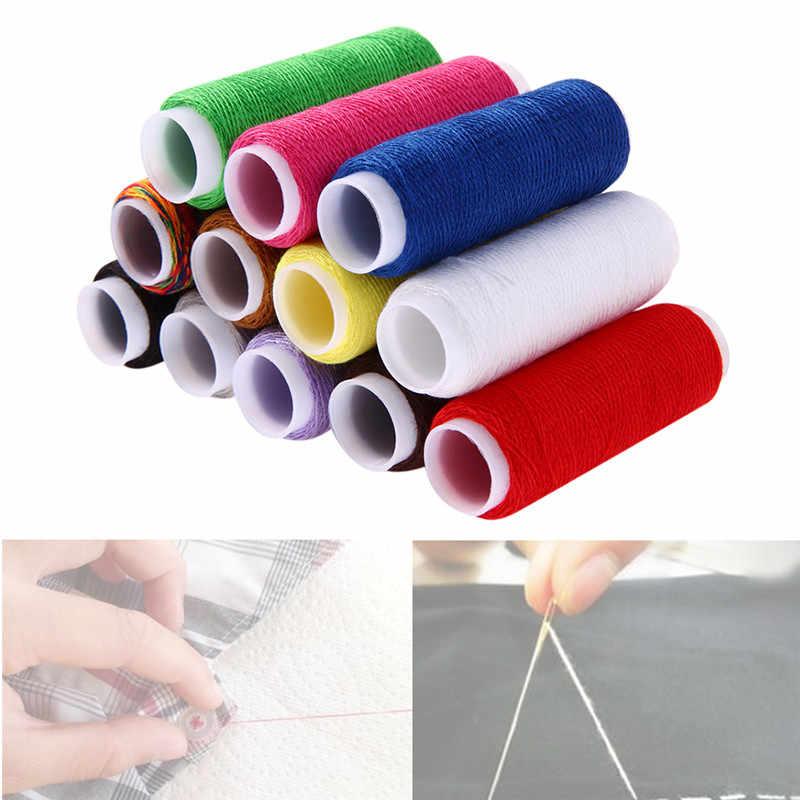 Offre spéciale 10 pièces/ensemble différentes couleurs fil bricolage Kit de filetage pour fil à la main ou à la Machine