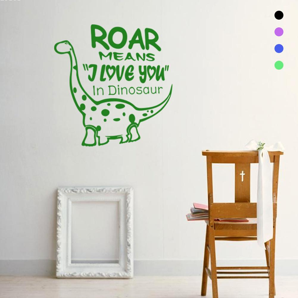 Chambre Dinosaure Animal Dinosaure Mur Stickes Sticker Chambre D Enfants