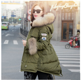 New 2015 Thicken Down Jacket Winter Coat Women Long Parkas For ...