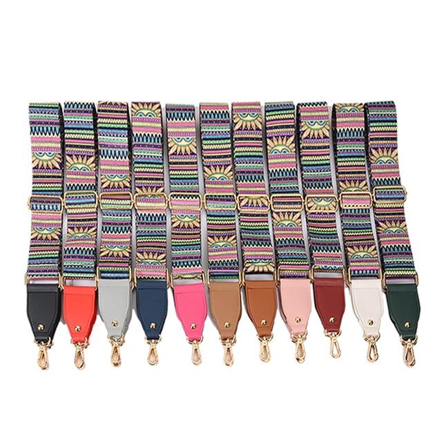 4 Metal Colors! Colorful Replacement 5cm Wide Bags Straps Belts Fashion DIY Adjustable  140cm Long Shoulder Strap for Handbags 83784cc90effa