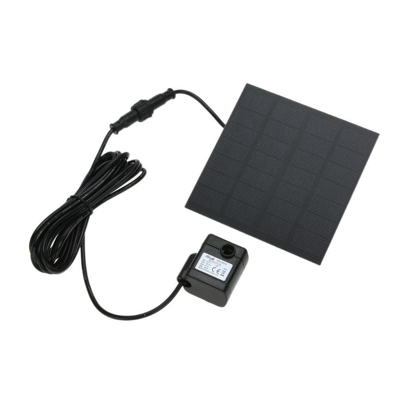 High Quality Solar Power Fountain Pool Water Pump Panel Kit Pool Home Garden Fish Pond Plants Watering Kit Solar Pond Pump Kit new pretty solar panel water floating pump fountain garden plants pool watering solar pump kit 1set