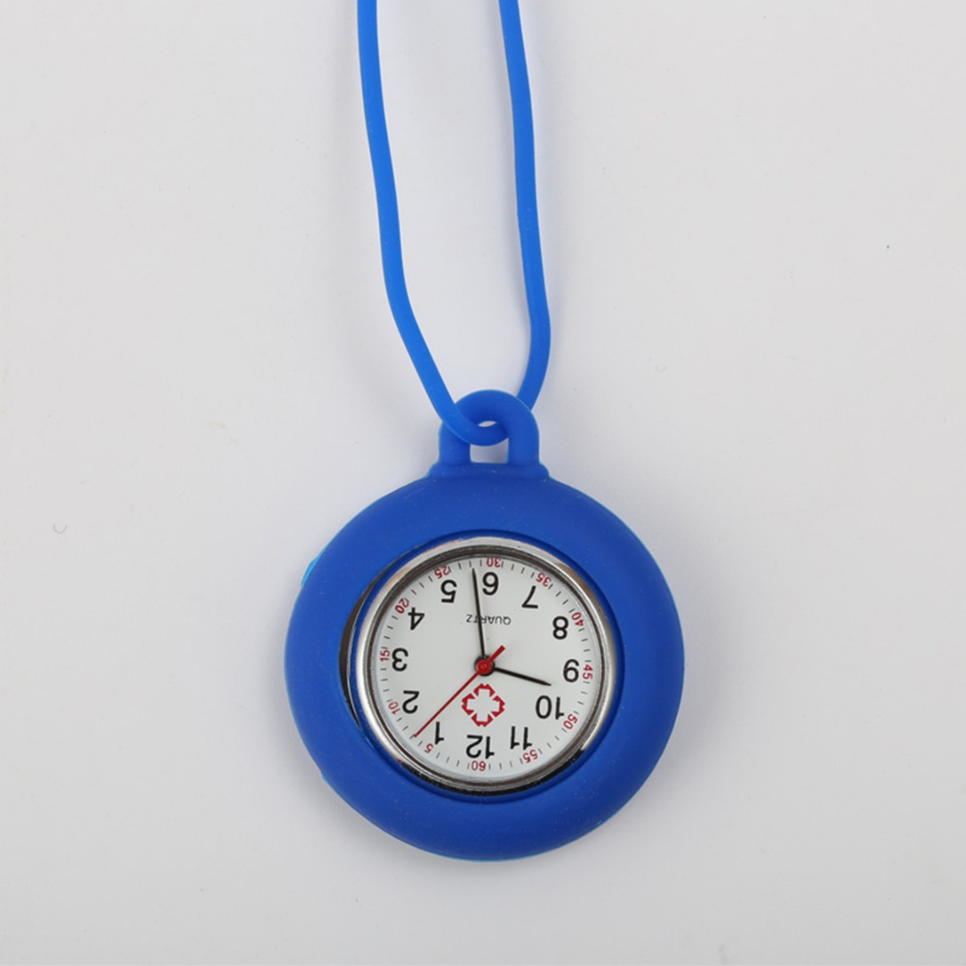 Pocket Watch Hanging Strap Quartz Silicone Nurse Watch Fashion Casual Men Women Unisex Relogio Feminino