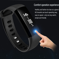 GIMTO Women Men Sport Bracelet Smart Watch Silicone Heart Rate Blood Pressure Pedometer LED Smartwatch For