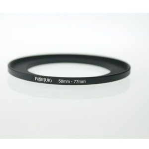 Image 1 - Originele Rise (Uk) 58 Mm 77 Mm 58 77 Mm 58 Te 77 Step Up Ring Filter Adapter Black