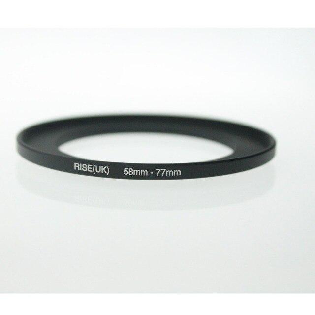 Originele Rise (Uk) 58 Mm 77 Mm 58 77 Mm 58 Te 77 Step Up Ring Filter Adapter Black